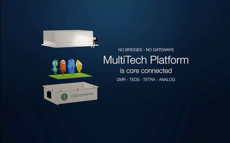 DAMM Core-connected MultiTech Platform