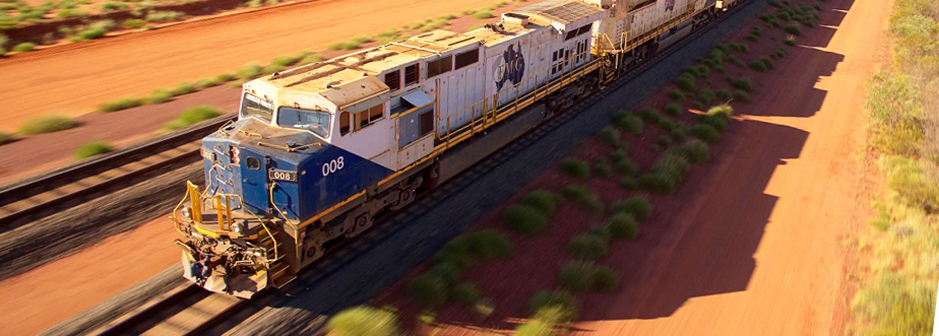 DAMM's TetraFlex® solution connects all of FMG's mining, rail and port operations